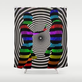 Dissension_Yianart Shower Curtain