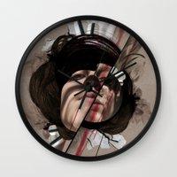 helen Wall Clocks featuring HELEN by CABINET