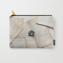 Books & Tiny Tiny Camera Carry-All Pouch