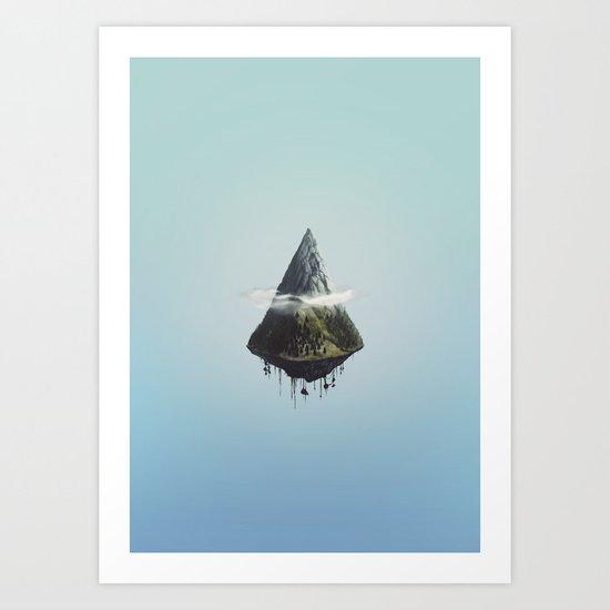 Mount Ascension Art Print