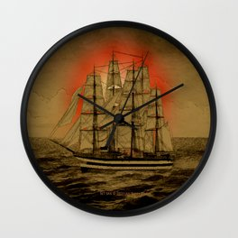 Set Sail - 001 Wall Clock