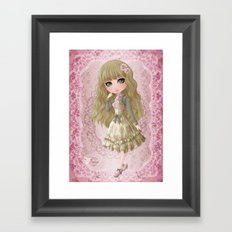 Classic Lolita Framed Art Print