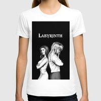 labyrinth T-shirts featuring Labyrinth by Ashleigh Hungerford