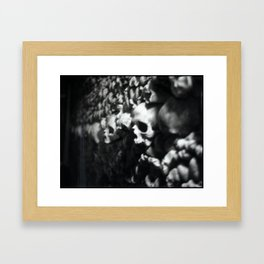 Wall of death Framed Art Print