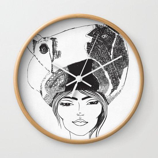 PolarGirl Wall Clock