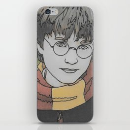 The Boy Who Lived iPhone Skin