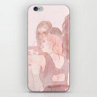 selfie iPhone & iPod Skins featuring selfie by rowan turner