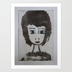 Doll Face 2 Art Print