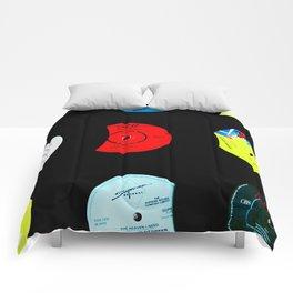 Vinyl Records Version 2 Comforters