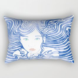 Water Nymph XLIII Rectangular Pillow