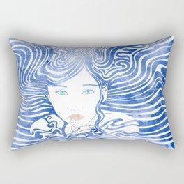 Water Nymph XLIII Rectangular Pillow