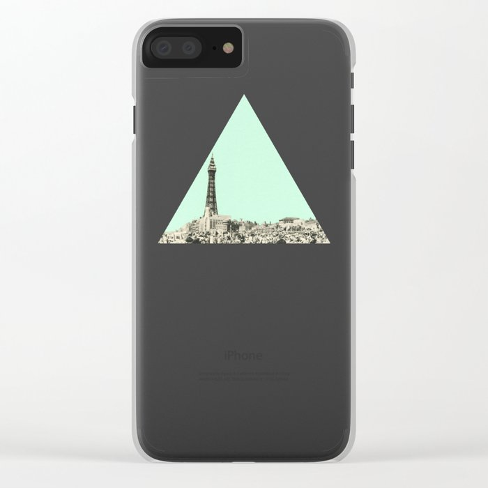 Blackpool Clear iPhone Case