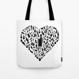 I Love Vape | Vaping Vaper E-Cigarette Liquid Tote Bag