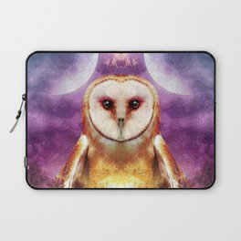 She shines all over the world Laptop Sleeve