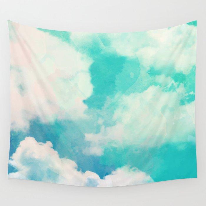 Spring Sky Wall Tapestry