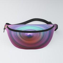 80s Purple Swirl Fanny Pack