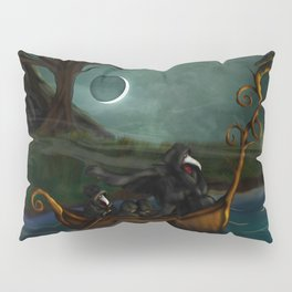 To Poveglia (The Plague Doctor) Pillow Sham