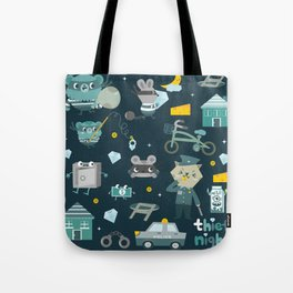 Thief night Tote Bag