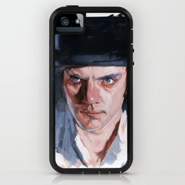 Malcolm McDowell iPhone Case