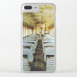 Train Wagon Clear iPhone Case