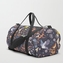 Tweet, tweet in the garden Duffle Bag
