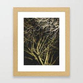 Cluttered Nite Framed Art Print