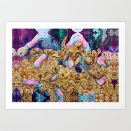 derpent Art Print