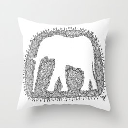 Fill in the Blanks Throw Pillow