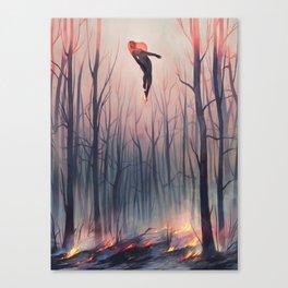 smoulder Canvas Print