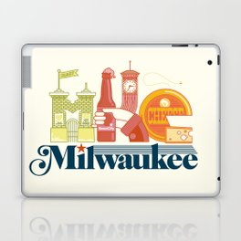 MKE ~ Milwaukee, WI Laptop & iPad Skin
