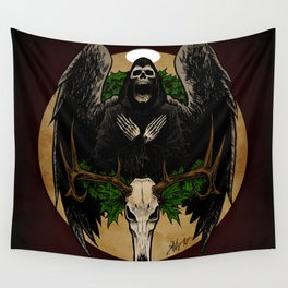 The Spirit of Creepmas Wall Tapestry