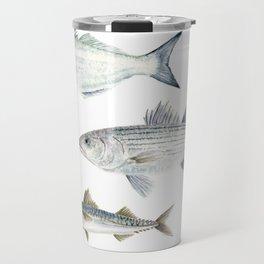 New England Fish Trio Travel Mug