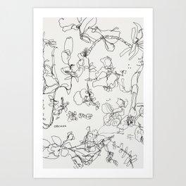 Botanical Bold Art Print