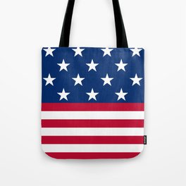 US Flag Tote Bag