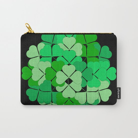 Lucky shamrocks Carry-All Pouch