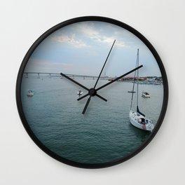 BAY VIEW Wall Clock