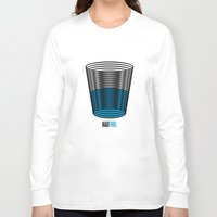 half life Long Sleeve T-shirts featuring Half Full by creaziz