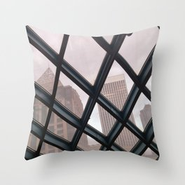seattle tones Throw Pillow