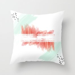 Word Project: Pattern Throw Pillow