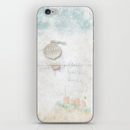 Still, like air, I rise. iPhone Skin