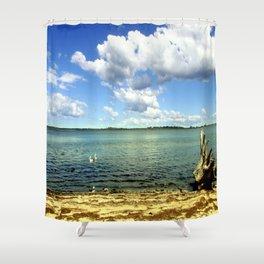 King Lake - Australia Shower Curtain