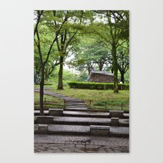 A Walk Through The Park Canvas Print