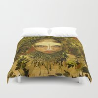 pagan Duvet Covers featuring Pagan by Charlie Terrell
