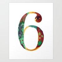 NeueFable 6 Art Print