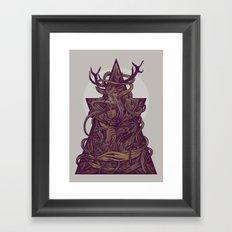 Beautiful Deer Framed Art Print