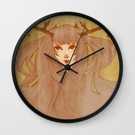 Woodland Spirit Wall Clock