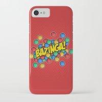 bazinga iPhone & iPod Cases featuring Bazinga! by Skeleton Jack