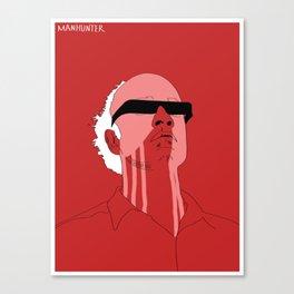Manhunter psycho  Canvas Print