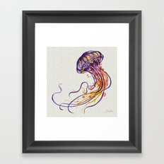 Jellyfish I Framed Art Print