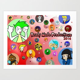 RM Thought Bubbles 2016 Art Print